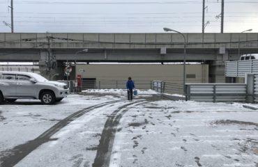 雪が降る日のネクステップ