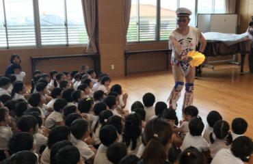 九州プロレスさんが青葉保育園を訪問